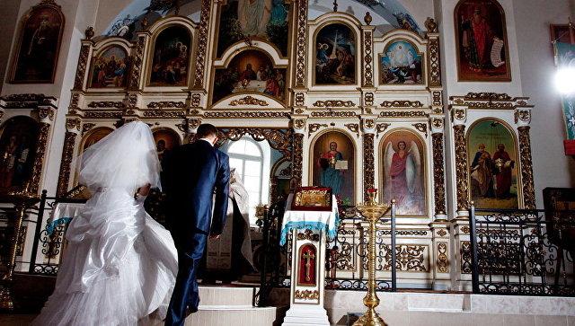 Таинство Венчания. Архивное фото
