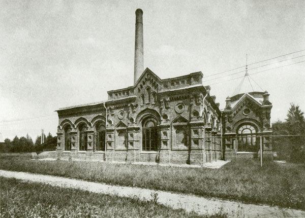 Мытищинская насосная станция, 2-ое машинное здание