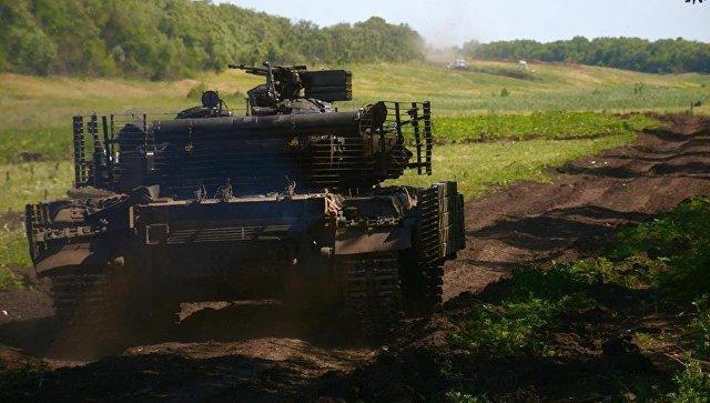 Украинский танк. Архивное фото