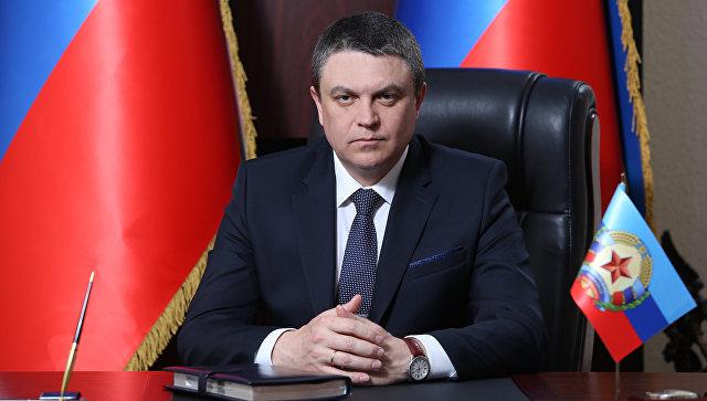 И.о. главы самопровозглашенной Луганской народной республики Леонид Пасечник. Архивное фото