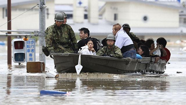 Число погибших из-за ливней в Японии превысило 60 человек