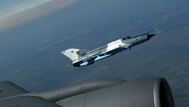 Истребитель румынских ВВС МиГ-21 Лансер