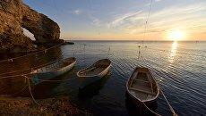 Лодки рыбаков. Архивное фото