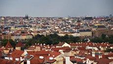 Вид на Прагу, архивное фото