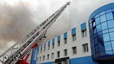 Пожар на Иркутском авиазаводе. 9 июля 2018