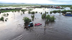 Паводок в Забайкальском крае. 10 июля 2018