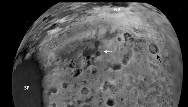 Трехмерная карта Плутона, подготовленная командой New Horizons