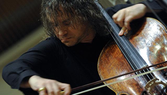 Виолончелист Александр Князев. Архивное фото