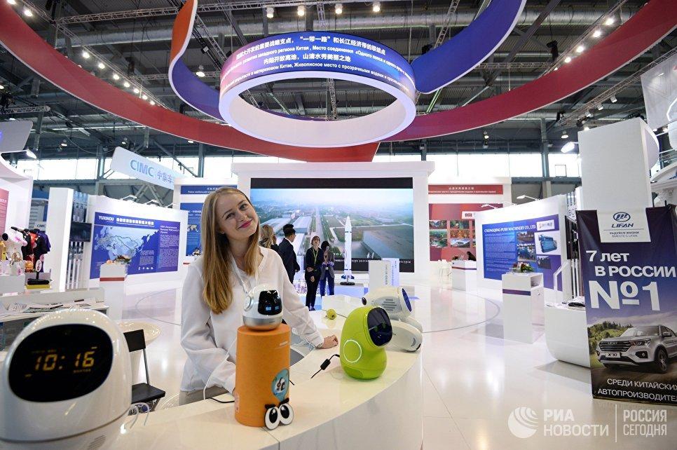 Участница на Международной промышленной выставке Иннопром - 2018 в международном выставочном центре Екатеринбург-ЭКСПО