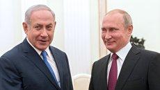 Владимир Путин и премьер-министр государства Израиль Биньямин Нетаньяху. Архивное фото