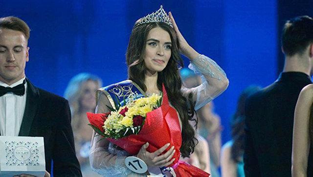 Победительница конкурса Мисс Беларусь ― 2018 Мария Василевич. Архивное фото