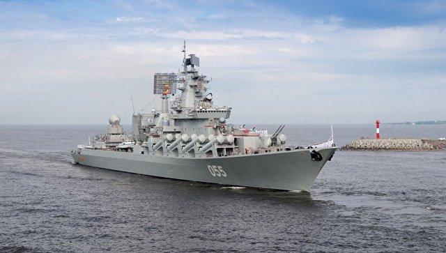 Боевой корабль Северного флота