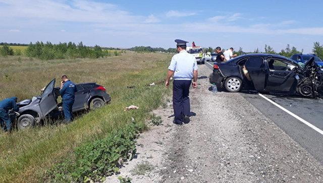 ДТП в Оренбургской области на границе с Казахстаном. 16 июля 2018