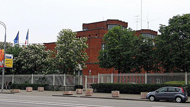Здание посольства Франции в Москве