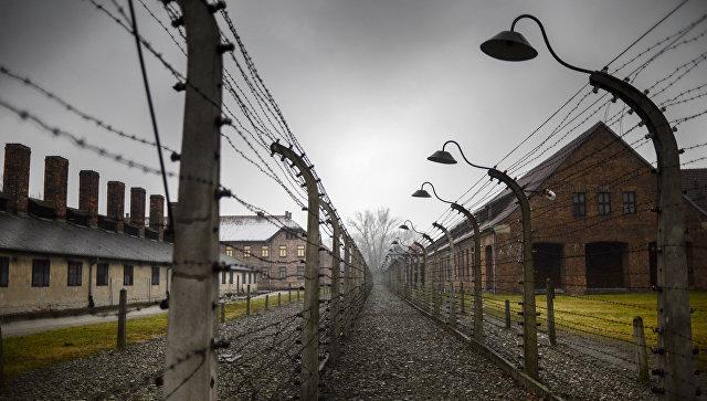Концентрационный лагерь Аушвиц-Биркенау в Освенциме, Польша. Архивное фото