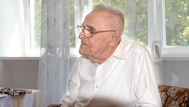 Ветеран Великой Отечественной войны Бесков Василий Николаевич
