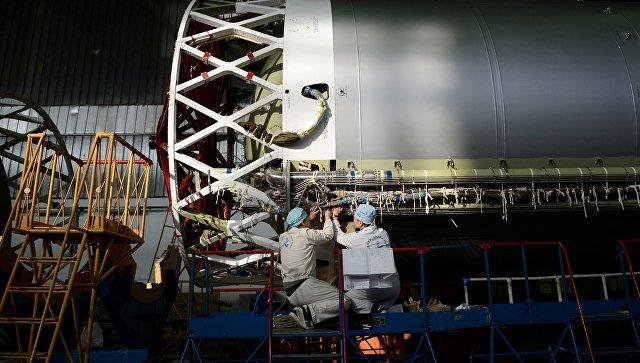 """Названы сроки постройки первого образца тяжелой ракеты """"Ангара-А5В"""""""