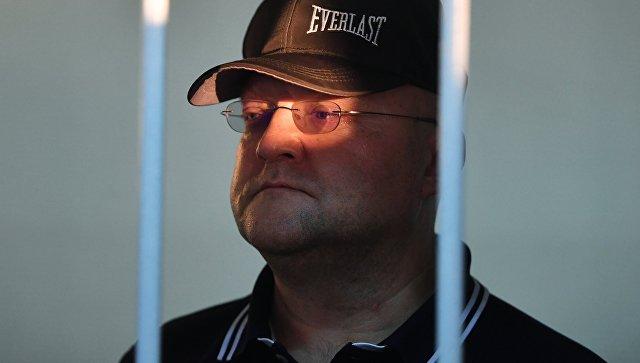 Александр Дрыманов в Лефортовском суде Москвы