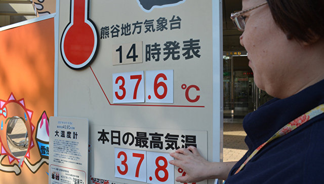Жертвами жары в Японии за неделю стали 65 человек
