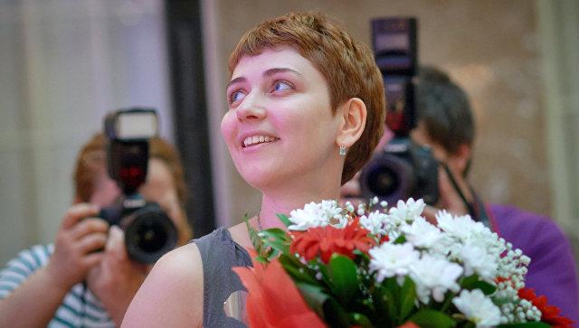 Писатель Анна Старобинец. Архивное фото