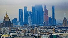Небоскребы делового центра Москва-сити. Архивное фото