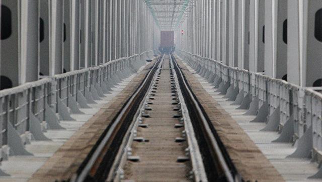 Железнодорожный мост. Архивное фото