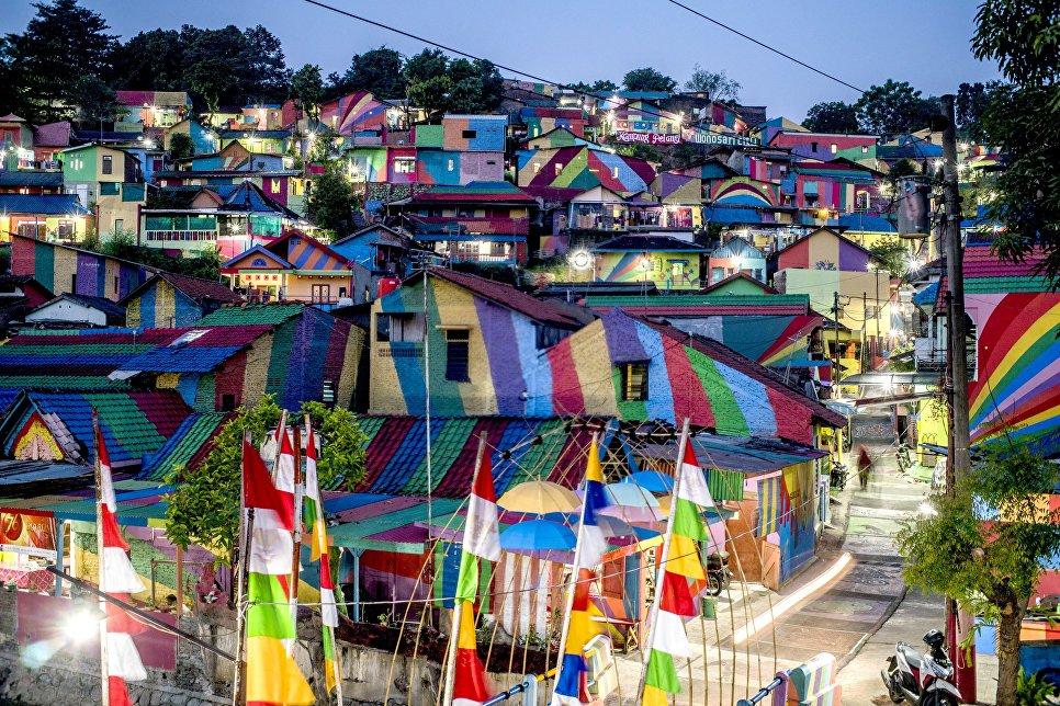 Радужная деревня