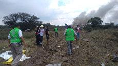 В Мексике потерпел крушение пассажирский самолет. Архивное фото