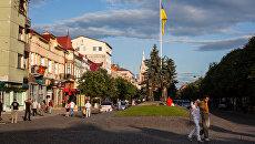 Жители Мукачево, Закарпатская область Украины