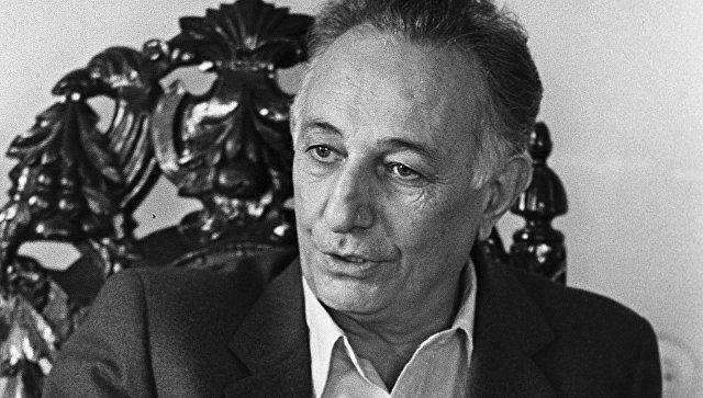 Армянский ученый, академик Сергей Амбарцумян. Архивное фото