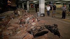 Последствия землетрясения на Бали. 5 августа 2018