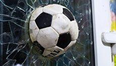 Фигура футбольного мяча