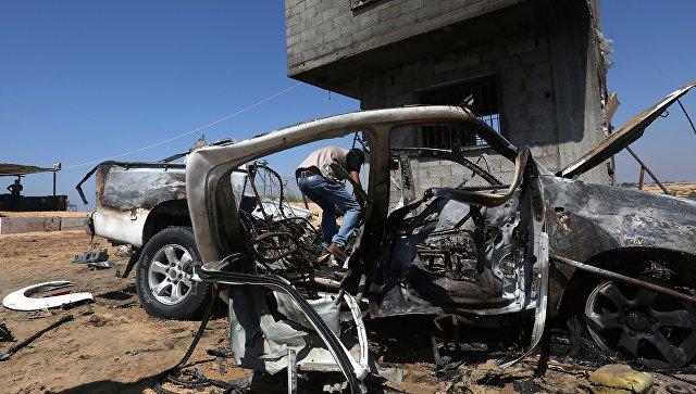 Последствия израильских ударов по сектору Газа. Архивное фото