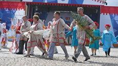 Празднование 91-летие образования Ленинградской области в Выборге