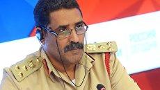 Официальный представитель ЛНА, глава департамента моральной ориентации, бригадный генерал Ахмад Аль-Мисмари