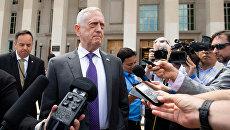 Министр обороны США Джеймс Мэттис в Вашингтоне, США. 7 августа 2018, архивное офто