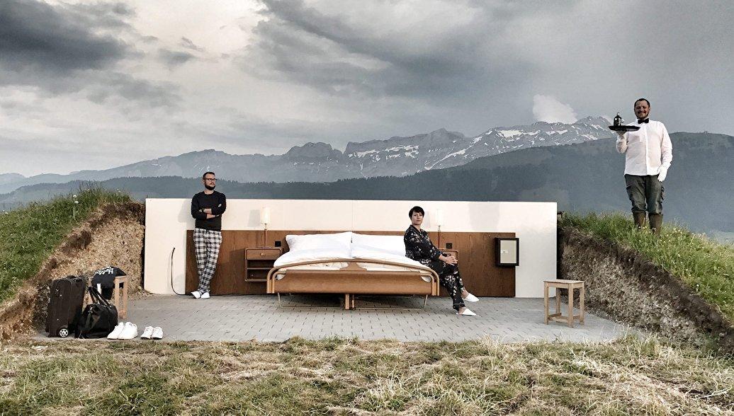 В Швейцарии открылся отель с номерами под открытым небом