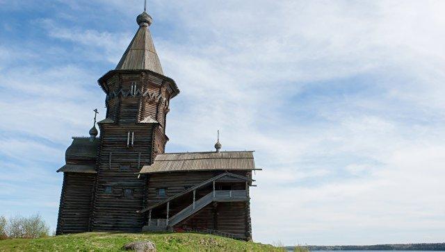 Церковь Успения Пресвятой Богородицы в Республике Карелия. Архивное фото