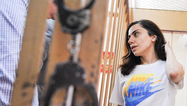 Суд в Москве на три месяца продлил арест Карины Цуркан