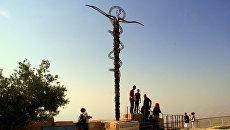 Памятник пророку Моисею на горе Нево, Иордания