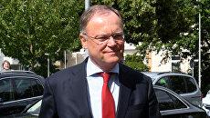 Премьер-министр федеральной земли Нижняя Саксония Штефан Вайль. Архивное фото