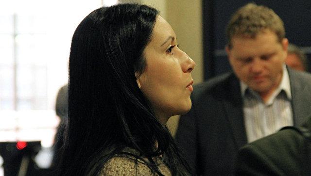 Гражданская жена Сергея Цапка Анжела-Мари Цапок. Архивнео фото