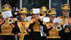 Выступление Центрального военного оркестра министерства обороны РФ. Архивное фото