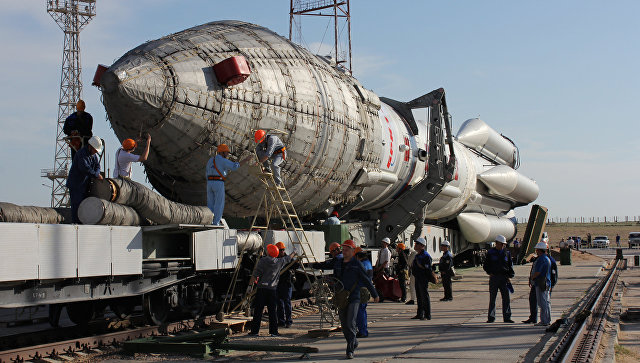 """Запуск """"Протона"""" запланировали на 25 декабря, сообщил источник"""
