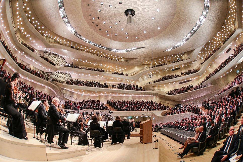 Зал Эльбской филармонии, Гамбург
