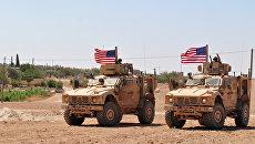 Американские военнослужащие в Сирии. Архивное фото
