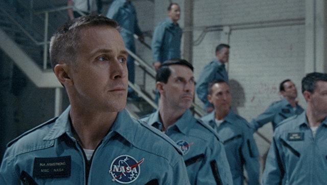 Кадр из фильма Человек на луне
