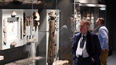 Открытие Музея археологического дерева Татарская слободка