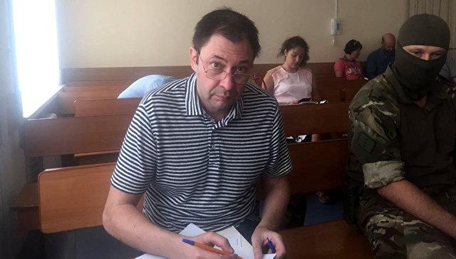 Журналист Кирилл Вышинский в Херсонском городском суде. 6 сентября 2018