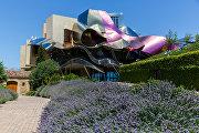 Проект для нового здания испанской винодельни Marqués de Riscal